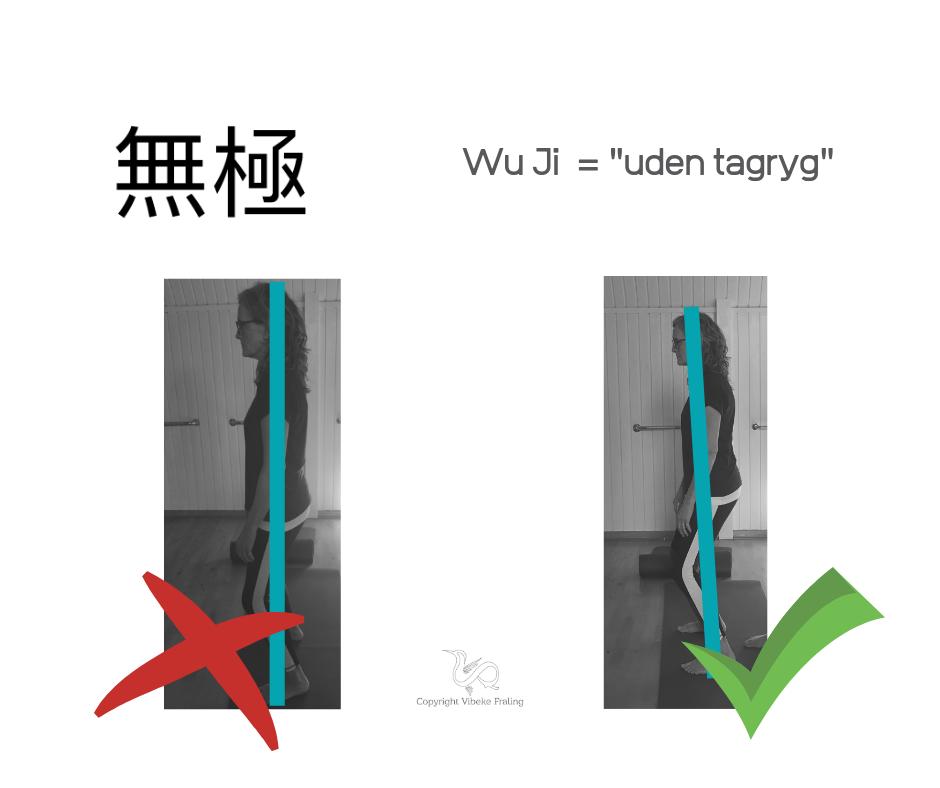 Wuji Stance - grundstilling i Qigong